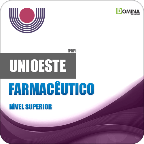 Apostila UNIOESTE PR 2019 Farmacêutico
