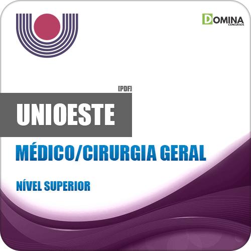 Apostila UNIOESTE PR 2019 Médico Cirurgia Geral