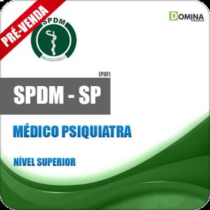 Apostila SPDM SP 2018 Médico Psiquiatra