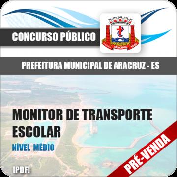 Apostila Pref Aracruz ES 2018 Monitor de Transporte Escolar