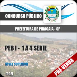 Apostila Pref Piracaia SP 2019 PEB I 1 a 4 Série