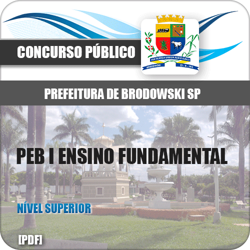 Pref Brodowski SP 2019 PEB I Ensino Fundamental