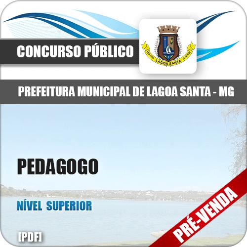 Apostila Pref Lagoa Santa MG 2018 Pedagogo