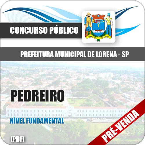 Apostila Pref Lorena SP 2019 Pedreiro