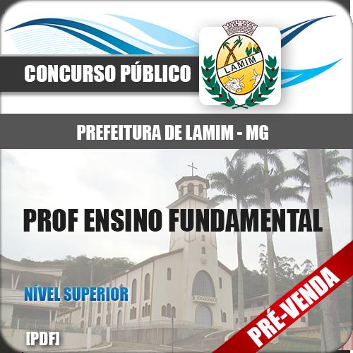 Apostila Pref Lamim MG 2019 Professor Ensino Fundamental