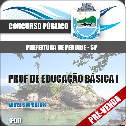 Apostila Pref Peruíbe SP 2019 Prof Educação Básica I