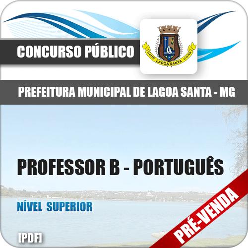 Apostila Pref Lagoa Santa MG 2018 Professor Português