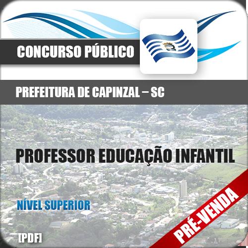 Apostila Pref Capinzal SC 2019 Prof Educação Infantil