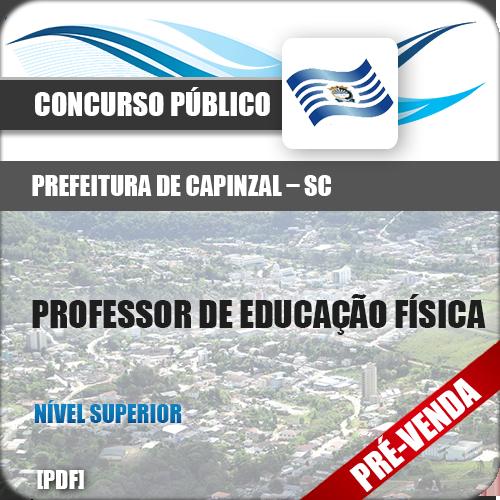 Apostila Pref Capinzal SC 2019 Prof Educação Física