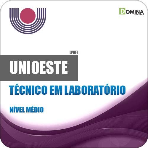 Apostila UNIOESTE PR 2019 Técnico em Laboratório