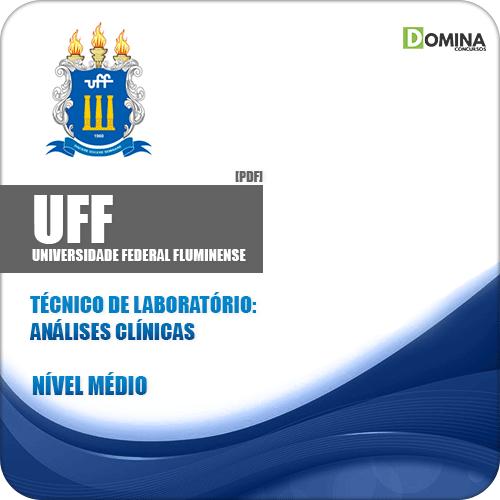 Apostila UFF RJ 2019 Técnico de Laboratório Análises Clínicas