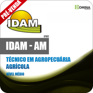 Apostila IDAM 2019 Técnico em Agropecuária Agrícola