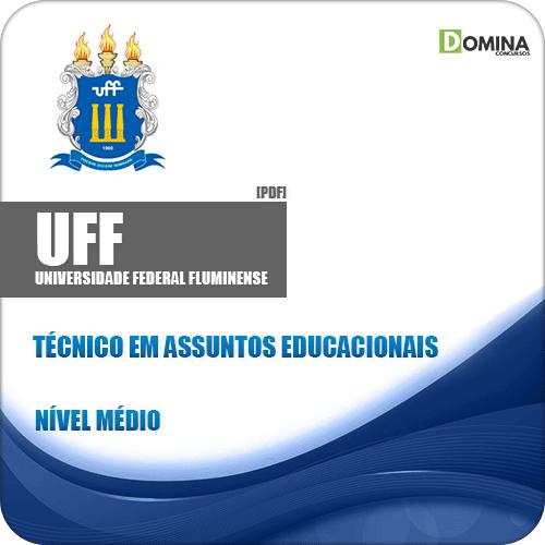 Apostila UFF RJ 2019 Técnico em Assuntos Educacionais