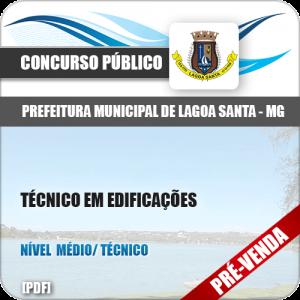 Apostila Pref Lagoa Santa MG 2018 Técnico em Edificações