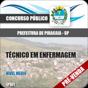 Apostila Pref Piracaia SP 2019 Técnico em Enfermagem