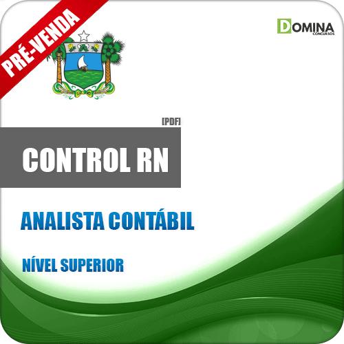 Apostila CONTROL RN 2019 Analista Contábil