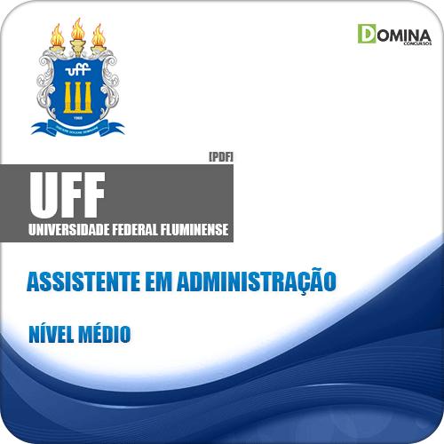 Apostila UFF RJ 2019 Assistente em Administração