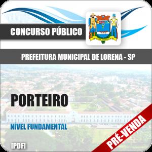 Apostila Pref Lorena SP 2019 Porteiro