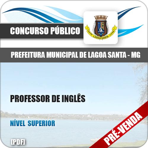 Apostila Pref Lagoa Santa MG 2018 Professor Inglês