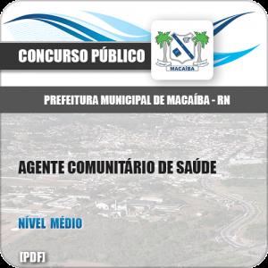 Apostila Pref Macaíba RN 2019 Agente Comunitário de Saúde