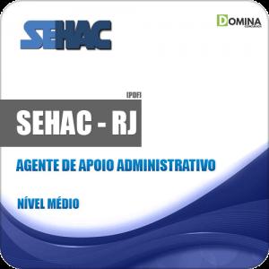 Apostila SEHAC 2019 Agente de Apoio Administrativo