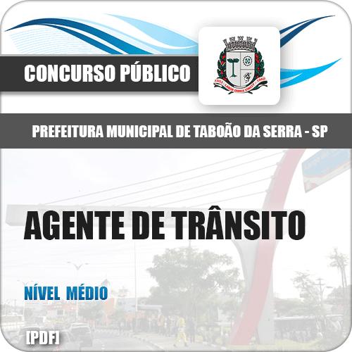 Apostila Pref Taboão da Serra SP 2019 Agente de Trânsito