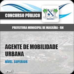 Apostila Pref Macaíba RN 2019 Agente de Mobilidade Urbana