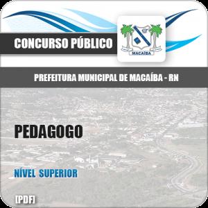 Apostila Pref Macaíba RN 2019 Pedagogo