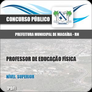 Apostila Pref Macaíba RN 2019 Professor de Educação Física