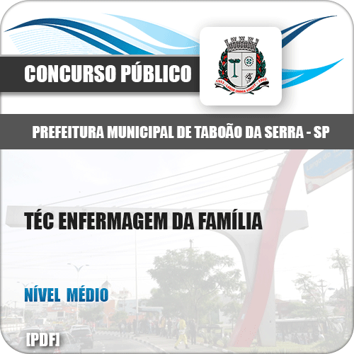 Apostila Pref Taboão da Serra SP 2019 Téc Enfermagem da Família