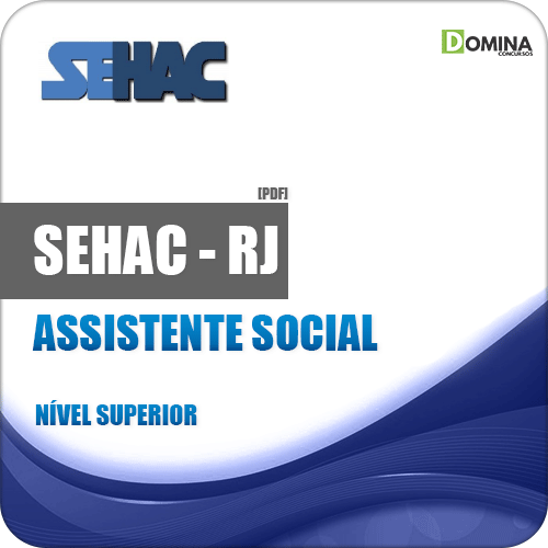 Apostila SEHAC 2019 Assistente Social