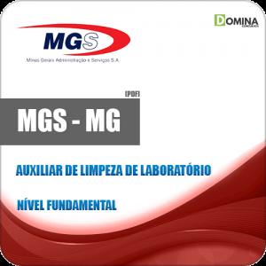Apostila MGS 2019 Auxiliar de Limpeza de Laboratório