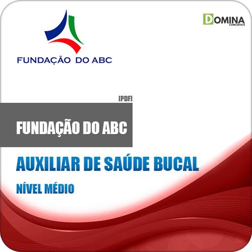 Apostila SEHAC 2019 Auxiliar de Saúde Bucal