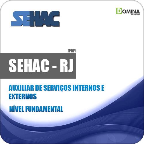 Apostila SEHAC 2019 Auxiliar de Serviços Internos e Externos
