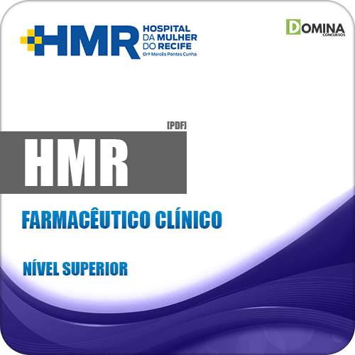 Apostila HMR 2019 Farmacêutico Clínico