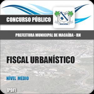 Apostila Pref Macaíba RN 2019 Fiscal Urbanístico