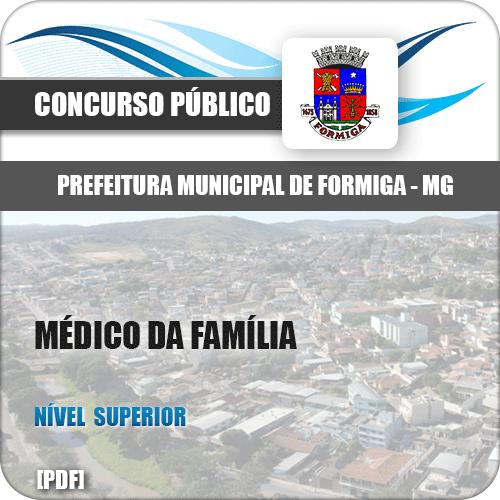 Apostila Pref Formiga MG 2019 Médico da Família