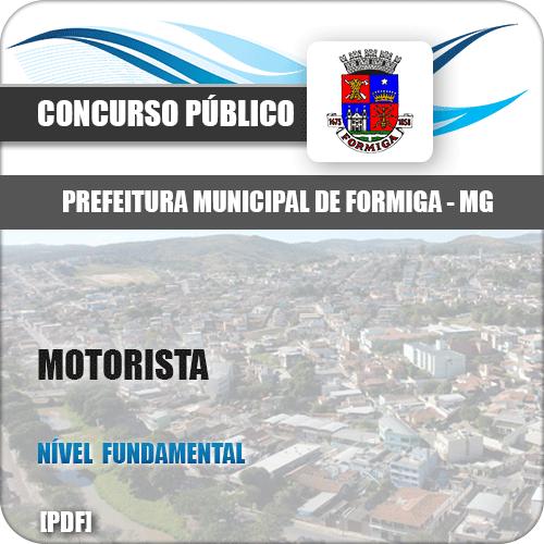 Apostila Pref Formiga MG 2019 Motorista