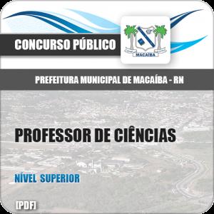 Apostila Pref Macaíba RN 2019 Professor de Ciências