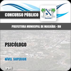 Apostila Pref Macaíba RN 2019 Psicólogo