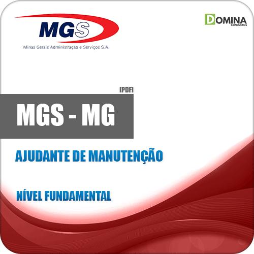 Apostila MGS 2019 Ajudante de Manutenção
