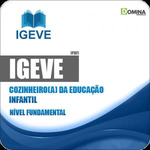 Apostila IGEVE 2019 Cozinheiro(a) da Educação Infantil