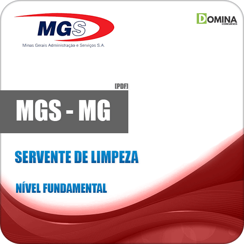 Apostila MGS 2019 Servente de Limpeza