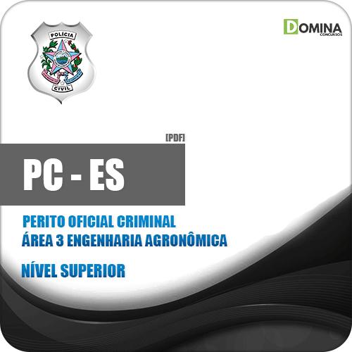 Apostila PC ES 2019 Perito Criminal Engenharia Agronômica