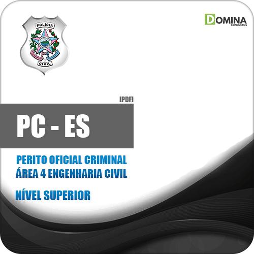 Apostila PC ES 2019 Perito Oficial Criminal Engenharia Civil
