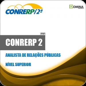 Apostila CONRERP 2 2019 Analista de Relações Públicas