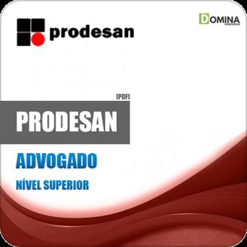 Apostila Concurso PRODESAN 2019 Advogado Pleno