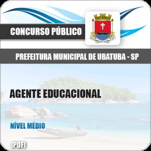 Apostila Concurso Pref Ubatuba SP 2019 Agente Educacional