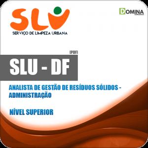 Apostila Concurso SLU DF 2019 Analista Administração