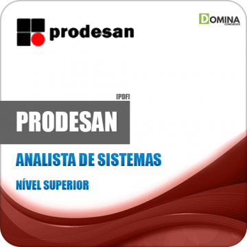 Apostila Concurso PRODESAN 2019 Analista de Sistemas